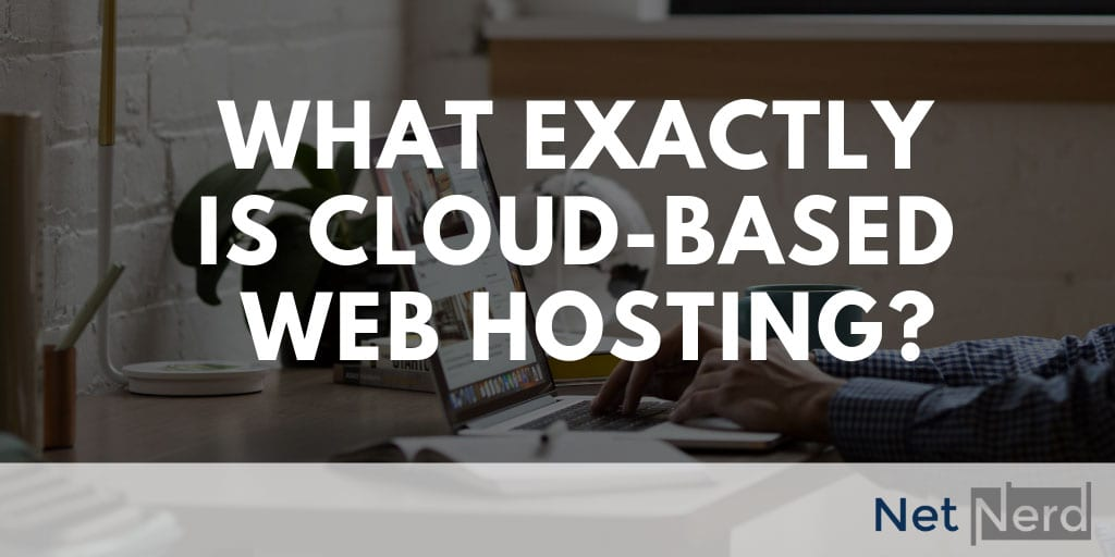 Cloud based web hosting